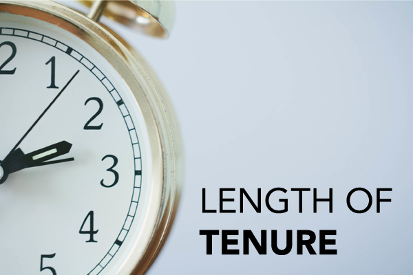 Length of tenure