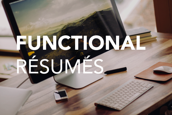functional resumes