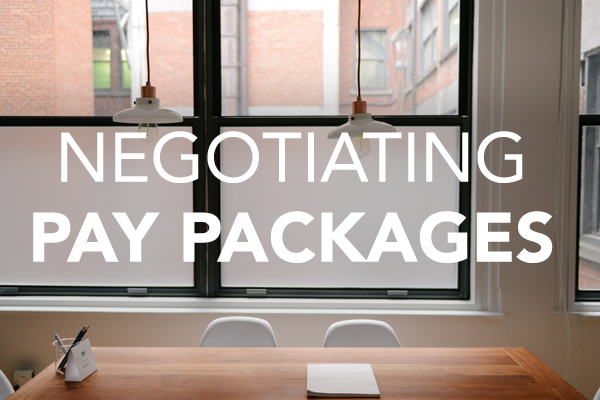 Negotiating Pay Package