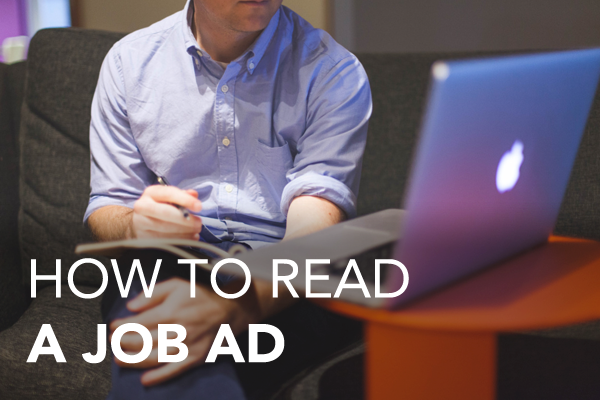 How to read a job ad