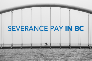 severance pay in bc