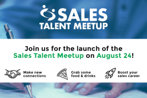We're launching a Sales Talent Meetup!