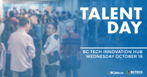 Find your dream job in tech at Talent Day on Oct 18!