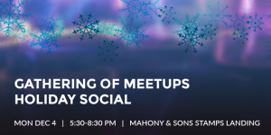 Event Recap: Gathering of Meetups Holiday Social - December 4th